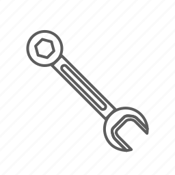 fix, monkey wrench, repair, tool, wrench icon