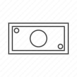 banknote, bill, buy, cash, money, note, order, pay, purchase, rich, shopping icon