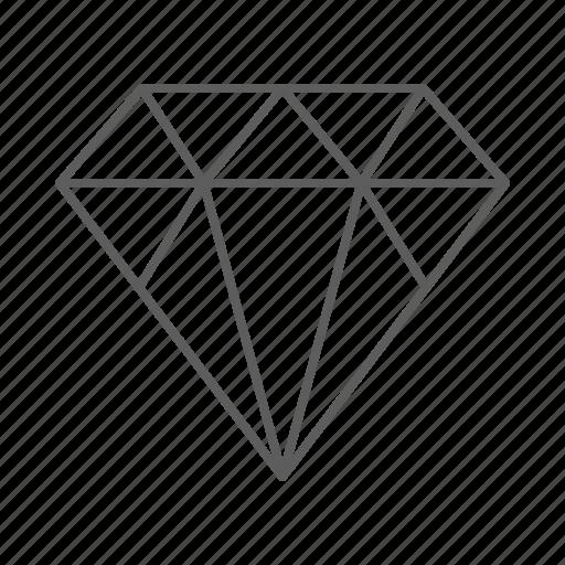 diamond, expensive, gemstone, jeweller, jewellery, rich icon