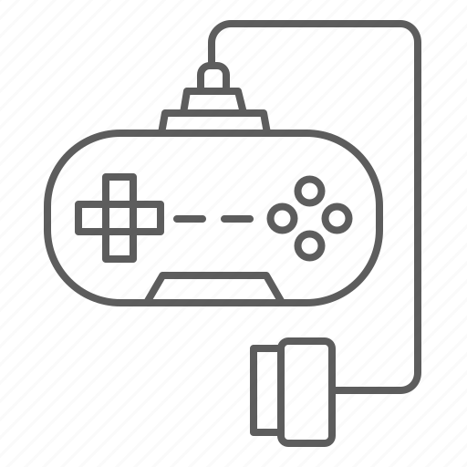 console, gamepad, joystick, play, throttle, video game icon