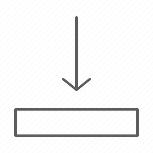 align, bottom, position, screen, text, text align icon