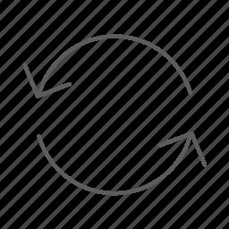arrow, arrows, loading, refresh, update icon