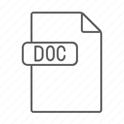 doc, document, file, text icon