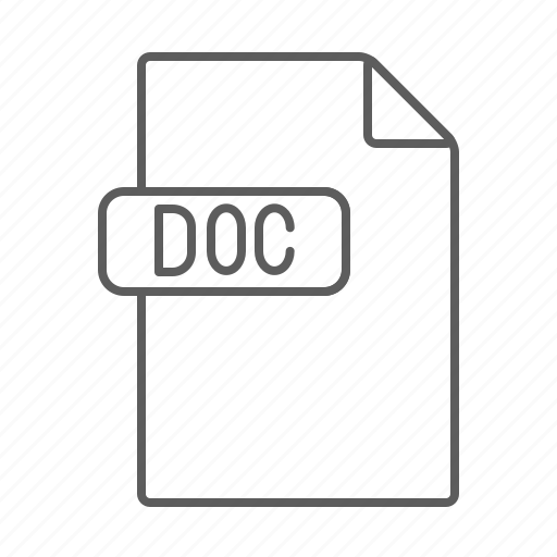 Doc, document, file, text icon - Download on Iconfinder