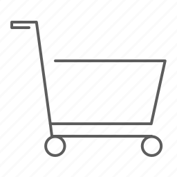 buy, cart, ecommerce, empty, market, purchase, shopping, store, supermarket, trolley icon