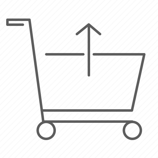 buy, cart, ecommerce, market, purchase, remove, remove product, shopping, supermarket, trolley icon