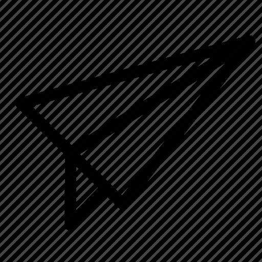 kite, line icon, send, share icon