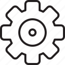 cog, fix, gear, mechanic, mechanical, preferences, repair, setting, settings, system, tool icon