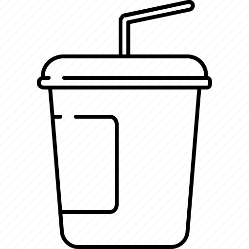 carrier, container, cup, drink, hot, plastic icon