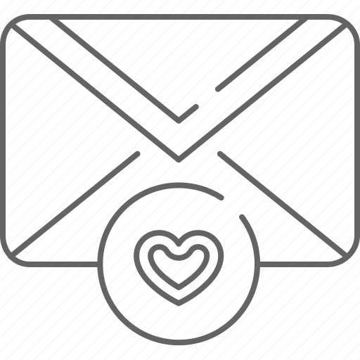 email, envelope, favourite, heart, like, love, message icon