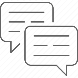 chat, communication, message, messaging, private, text icon