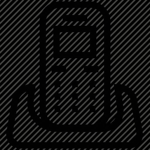 communication, cordless, phone, telephone icon