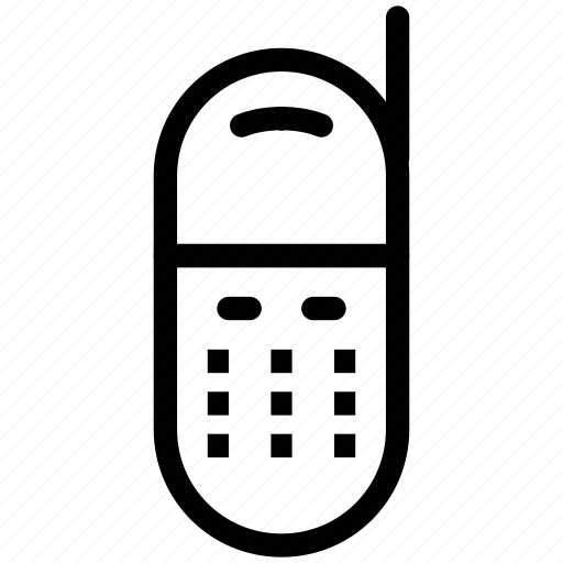 intercom, interphone, mobile, walkie talkie icon