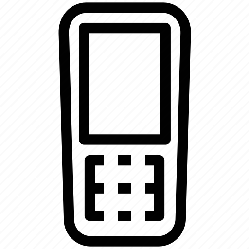 cheap, mini, mobile, phone icon