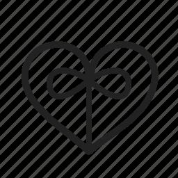 gift, heart, love, valentine day icon