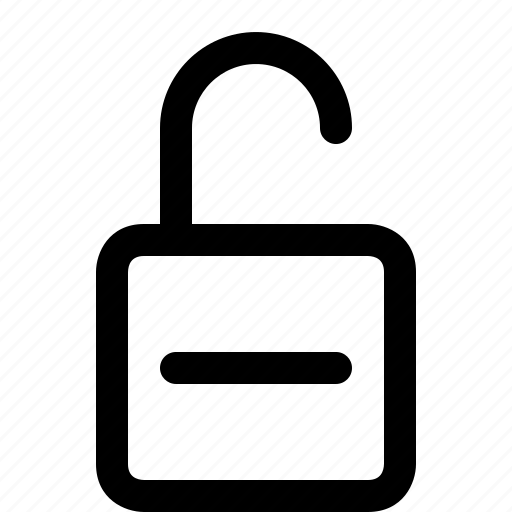 lock, padlock, safety, security, unlock icon