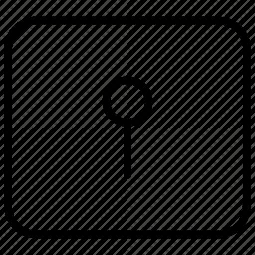 keyhole, locked, locker, password, secure, storage icon