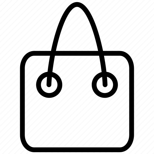 bag, basket, lady bag, shop, shopping icon