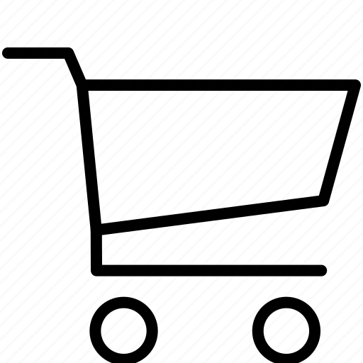 basket, cart, ecommerce, empty cart, online, shop, shopping, webshop icon
