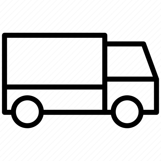 auto, car, deliver, delivery, lorry, shipment, traffic, transport, transportation, truck, van, vehicle icon