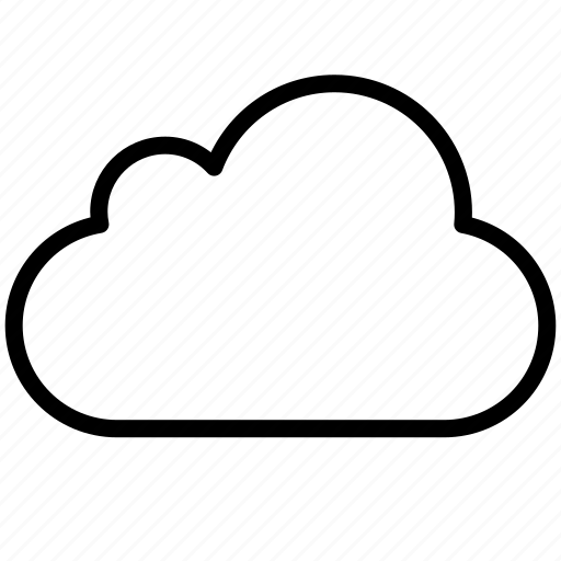 cloud, clouds, cloudy, overcast, rain, saas, upload, weather icon