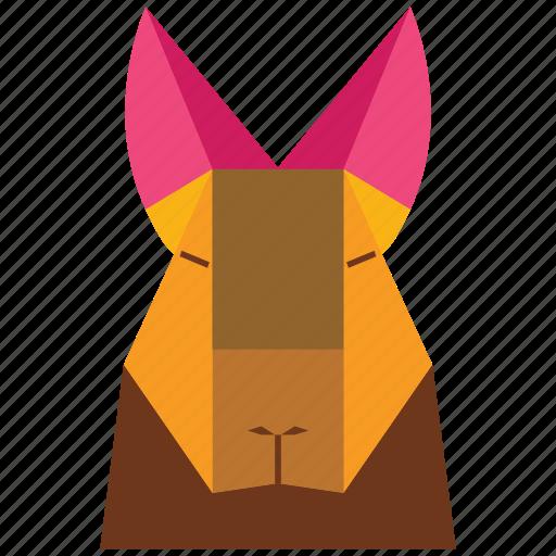 animal, animal face, cartoon, jung, linear animal icon