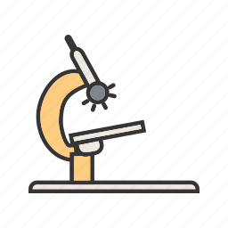 chemistry, experiment, lab, microscope icon
