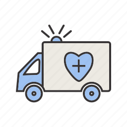 ambulance, emergency, healthcare icon