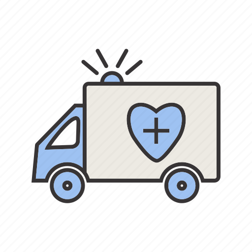ambulance, care, emergency, healthcare, medical icon