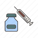 healthcare, medical, steriods icon