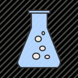 healthcare, lab, laboratory, medical, test, tube icon