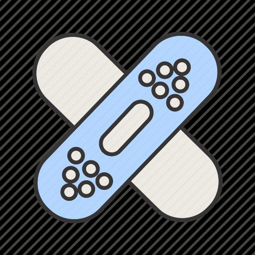 bandaige, health, healthcare, medical icon