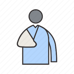 fracture, health, healthy icon