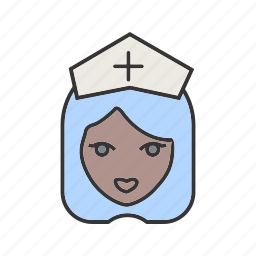 healthcare, medical, nurse icon