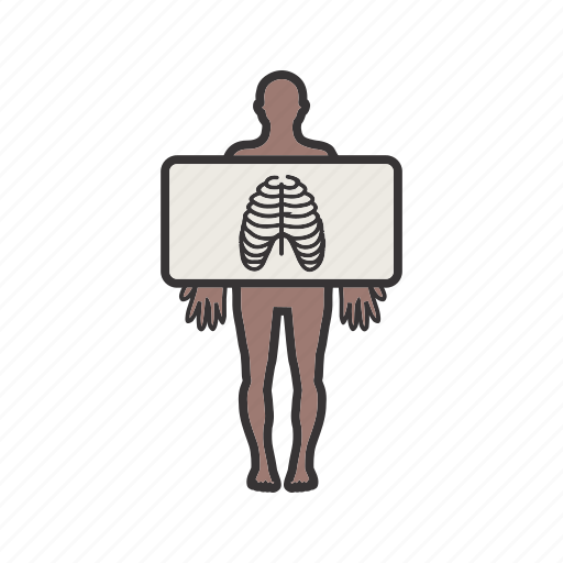 health, healthcare, medical, standing, x ray icon