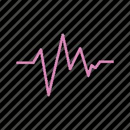 e.c.g, medical icon