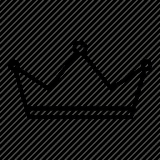 crown, emperor, king, monarch, premium, queen, royal icon