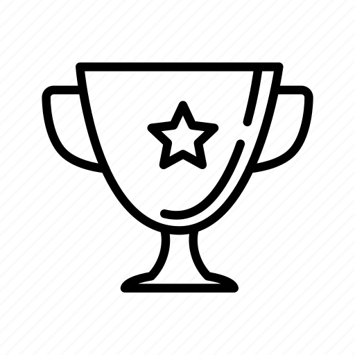 cup, goblet, prize, reward, success, trophy, winner icon