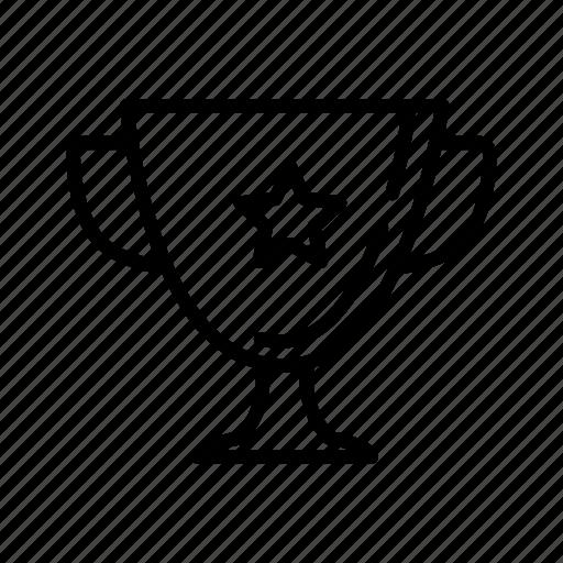 cup, goblet, prize, reward, success, trophy, winner icon