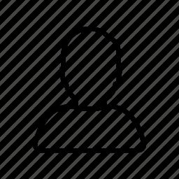 human, man, person, profile, user icon