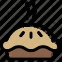 bakery, dessert, food, pie, sweet icon
