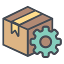 box, configuration, logistic, setting, shipping, transportation, truck icon