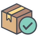 boxperspectiveright, correct, logistic, right, shipping, transportation, truck icon