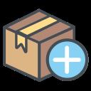 plus, logistic, plusicon, add, shipping, transportation icon