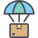 cargo, delivery, dropbox, logistics, packages, shipping icon