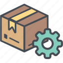 boxperspectiveconfigure, cargo, delivery, logistics, packages, shipping icon