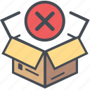 boxopenwrong, cargoshipping, delivery, logistics, packages icon