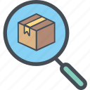boxperspectiveanalysis, cargo, delivery, logistics, packages, shipping icon