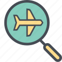 analysisplane, cargo, delivery, logistics, packages, shipping icon