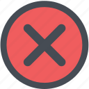 cargo, delivery, logistics, packages, shipping, wrongicon icon